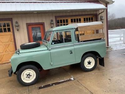 1980 Land Rover Defender  Land Rover 1980 Defender Series III 4-Cylinder Gas Manual Restored Clean Driver