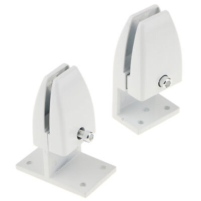 2 Size Office Partition Support Desk Divider Privacy Screen Panel Clamp Clip