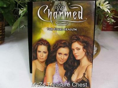 """Charmed""  The Complete Final Season (DVD, 2007, 6-Disc Set) Used Once With Care"
