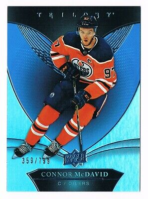 2018-19 UPPER DECK TRILOGY BLUE FOIL #1 to 50 Pick From List  #/799 !!!