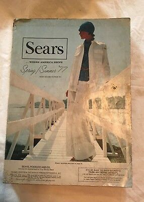 Vintage 1977 Sears Roebuck Spring  Summer Catalog