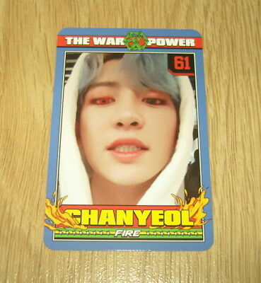 EXO K M 4th Repackage Album The Power of Music ChanYeol A Photo Card Official