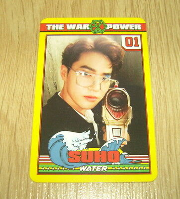 EXO K M 4th Repackage Album The Power of Music Suho B Photo Card Official