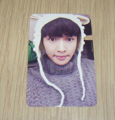 EXO K M Special Album Sing For you Type White Lay Photo Card Official