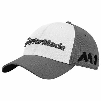 NEW TaylorMade M1/TP5 Tour Radar Grey/White/Black Adjustable Hat/Cap