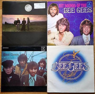 ♫ 4 BEE GEES albums - 1 double album - all in great condition ♫