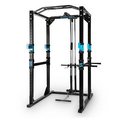 Power Rack Barre Traction Appareil Musculation Station Multifonction Training