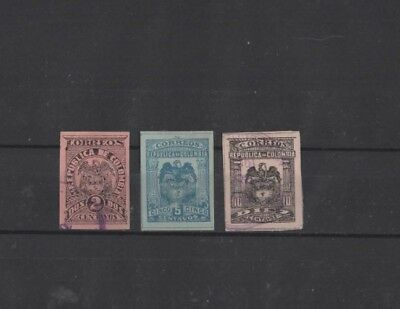 Colombia , 1902, 3 Mh/used ( Please See Descr. ).....