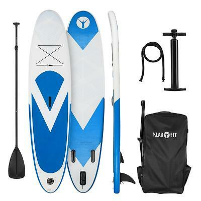 Planche de paddle gonflable Stand up Board 300x 10x 71 cm 3x ailerons + Pagaie