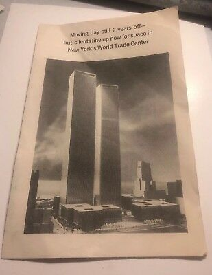 World Trade Center Brochure Selling Space 1967
