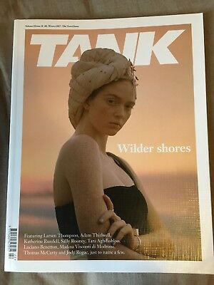 Tank Magazine Vol 8 Issue 14 - Winter 2017 Travel Issue Fashion Style Culture