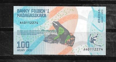 Madagascar 2017 100 Ariary New Mint Crisp Banknote Paper Money Currency  Note