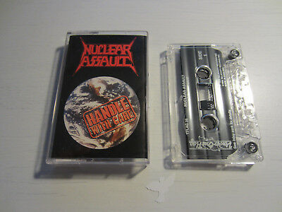 Nuclear Assault - Handle with Care - Kassette - MC - Tape