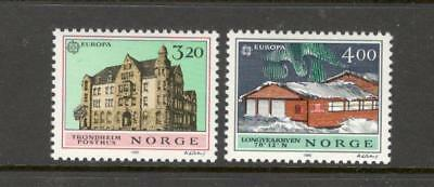 Norway - Post Offices - Europa - Set #980-1 - Mnh - Yr 1990