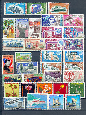 Madagascar Lot Tematics Mnh