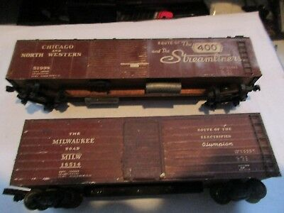 Ho Scale:   Milwaukee Road  And   Chicago & N'western,   Pkg.404