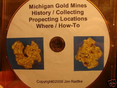Michigan Gold Mines Collecting Prospecting Locations PDF Download