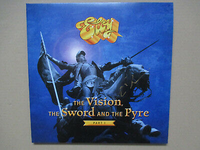 Eloy - The Vision,The Sword Anmd The Pyre - 2 Vinyl LP + Booklet mit Autogramm