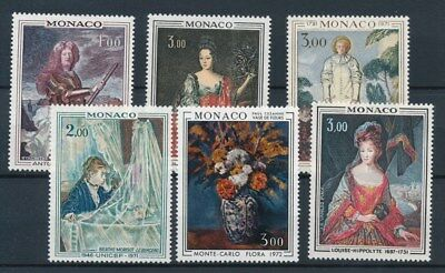 [87171] Monaco 1972 Painting good lot Very Fine MNH stamps