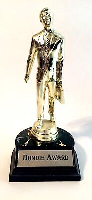Authentic Dunder Mufflin Dundie Award Trophy The Office From Gift Set