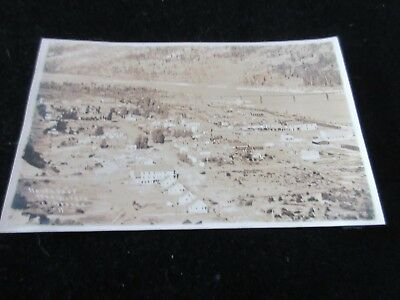 Vintage 1916 Postcard Northport Wash. Aerial View Stevens Co RPPC Wa. Reeves #11