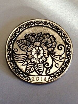 hand engraved coin