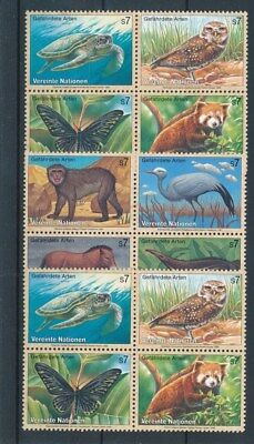 [109411] United Nations Fauna 3 good Sets very fine MNH Stamps