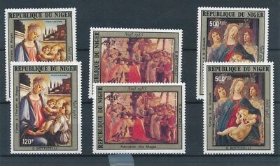 [109568] Niger 1983 Christmas 2x good Set very fine MNH Airmail Stamps