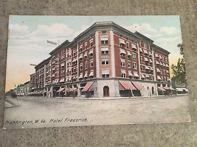 Vintage 1909 Postcard Hotel Frederick West Virginia WV