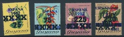 [134062] Guyana 1982 good set of stamps very fine MNH