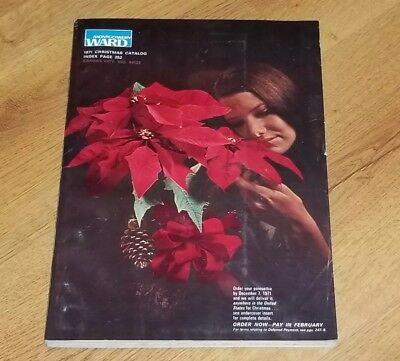 MINT 1971 Montgomery Ward Wards Merry Christmas catalog book wishbook Barbie