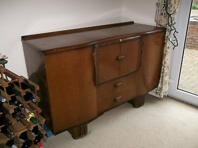 1950's sideboard with cocktail cabinet