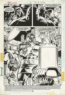 Banks GREEN LANTERN 56 pg 1 DARKSEID SPLASH PAGE