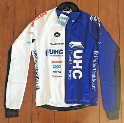 UHC UnitedHealthcare Vermarc Wilier Thermal Cycling Waterproof Jacket XS ea55e0be6
