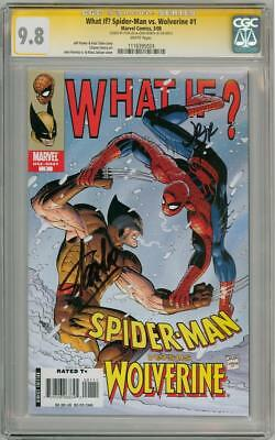 What If Spider-Man Wolverine 1 Cgc 9.8 Signature Series Signed Stan Lee Romita