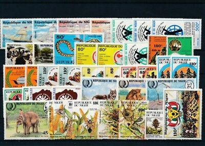 [G117536] Niger good Lot very fine MNH Stamps
