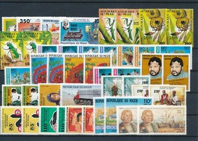 [G117539] Niger good Lot very fine MNH Stamps