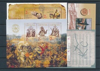 [G117649] Lithuania 4 good Sheets very fine MNH