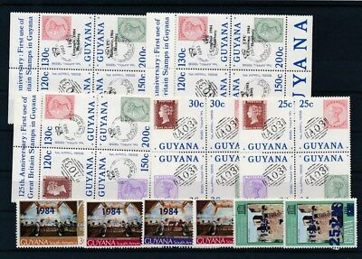 [G126006] Guyana good lot of stamps very fine MNH