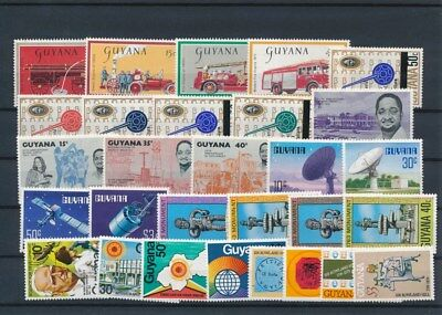 [G126011] Guyana good lot of stamps very fine MNH