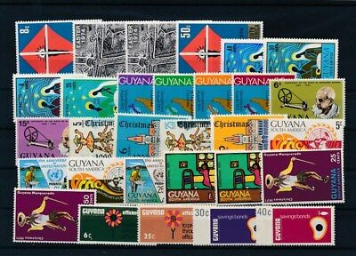 [G126017] Guyana good lot of stamps very fine MNH