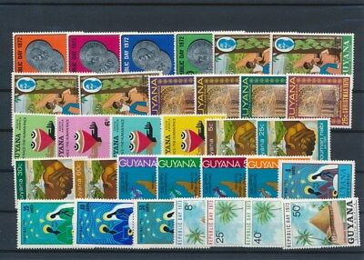 [G126018] Guyana good lot of stamps very fine MNH