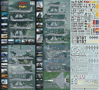 Twobobs Decals 48-236 F-15C Eifel Eagles Bitburg 1/48