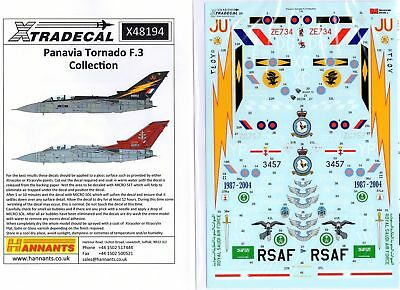 Xtradecal Nr.X48194 Panavia Tornado F.3 Collection 1/48