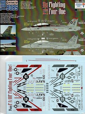 Twobobs 48-197 F/A-18F VFA-41 Fighting Four-One 1/48