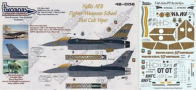 Twobobs 48-006 F-16C Nellis AFB Fighter Weapons School - Taxi Cab Viper 1/48