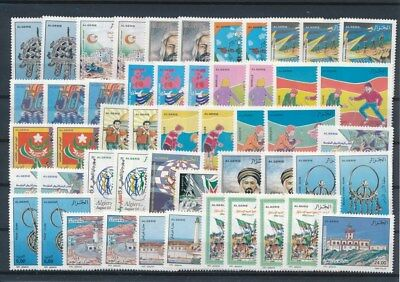 [G126182] Algeria good lot of stamps very fine MNH