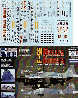 Twobobs Decals 48-207 F-5E 57th FWW Nellis Comers 1/48