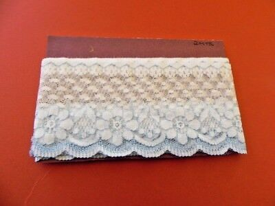 Card of New Lace - Blue & White