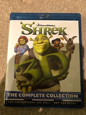 Shrek Complete Collection Blu Ray In 3D